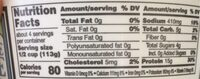 Fat free cottage cheese - Nutrition facts - en