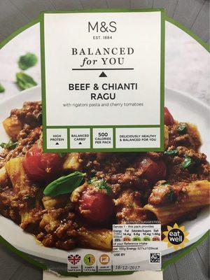 Beef & chianti ragu - Produit - fr
