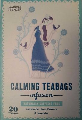 Calming Teabags - Produit