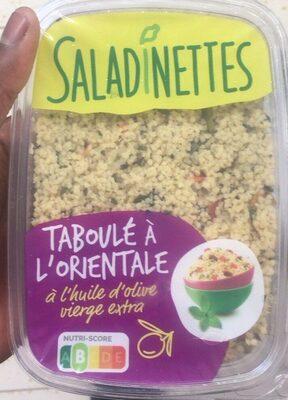Taboulé a l'orientale - Produit - fr