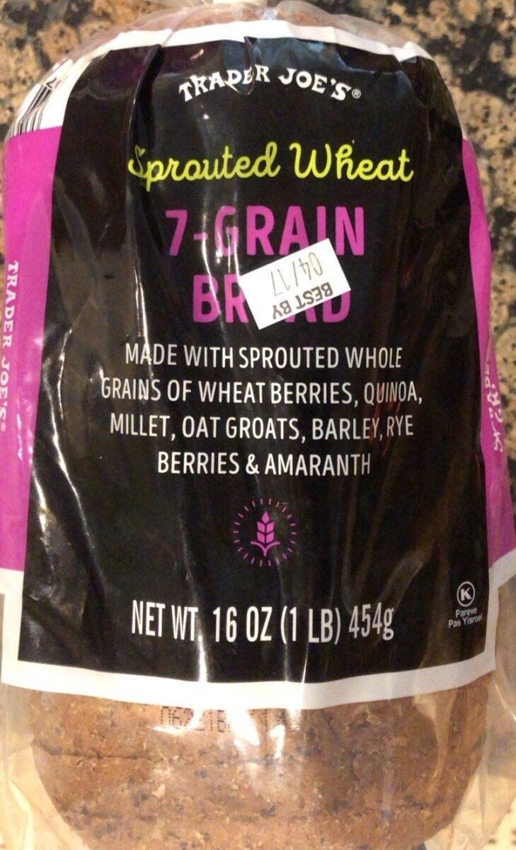 Spouted Wheat 7 Grain Bread - Product - en