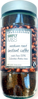 medium roast instant coffee made from 100% colombian arabica beans - Product