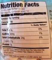 Dandies All Naturak mini vanilla marshmallows - Nutrition facts