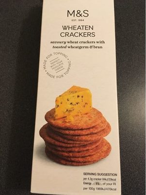 Wheaten crackers - Product