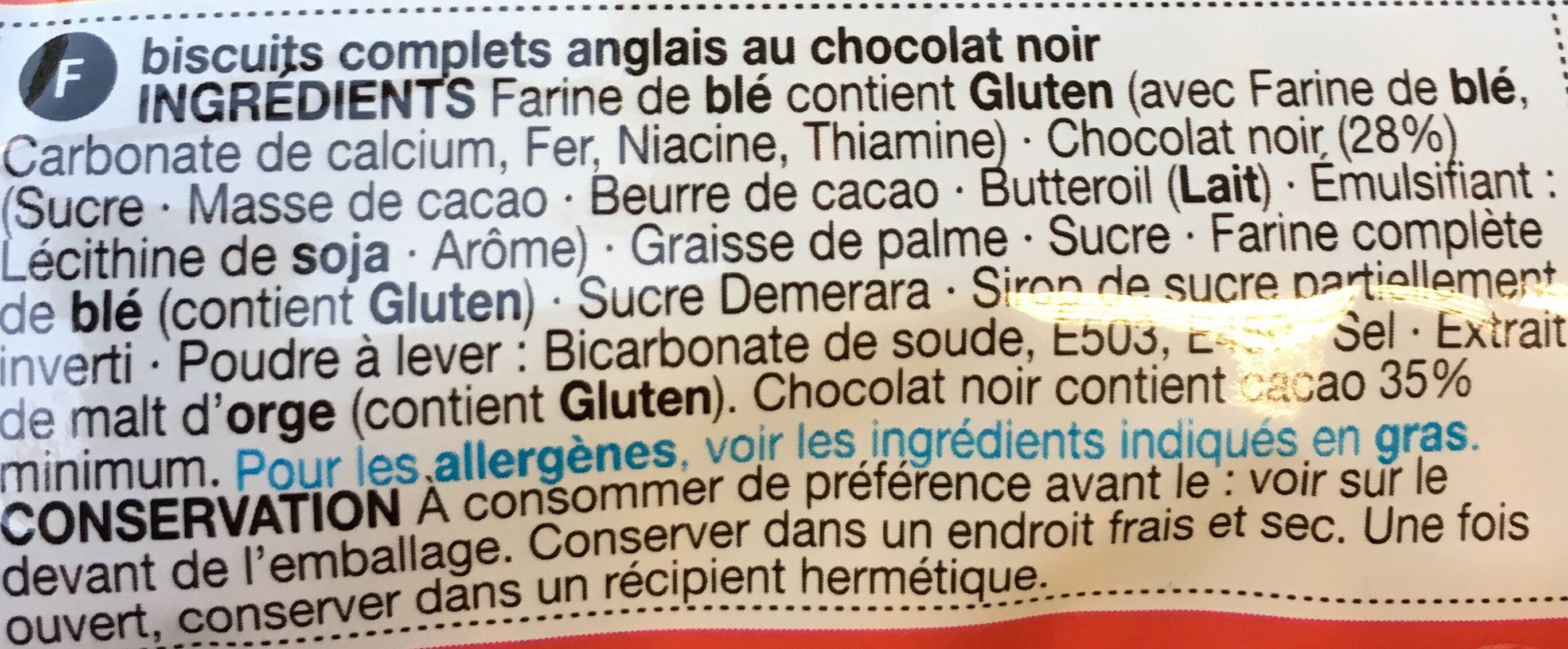 Digestive - Ingredients - fr