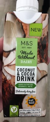 coconut & cocoa drink - Product