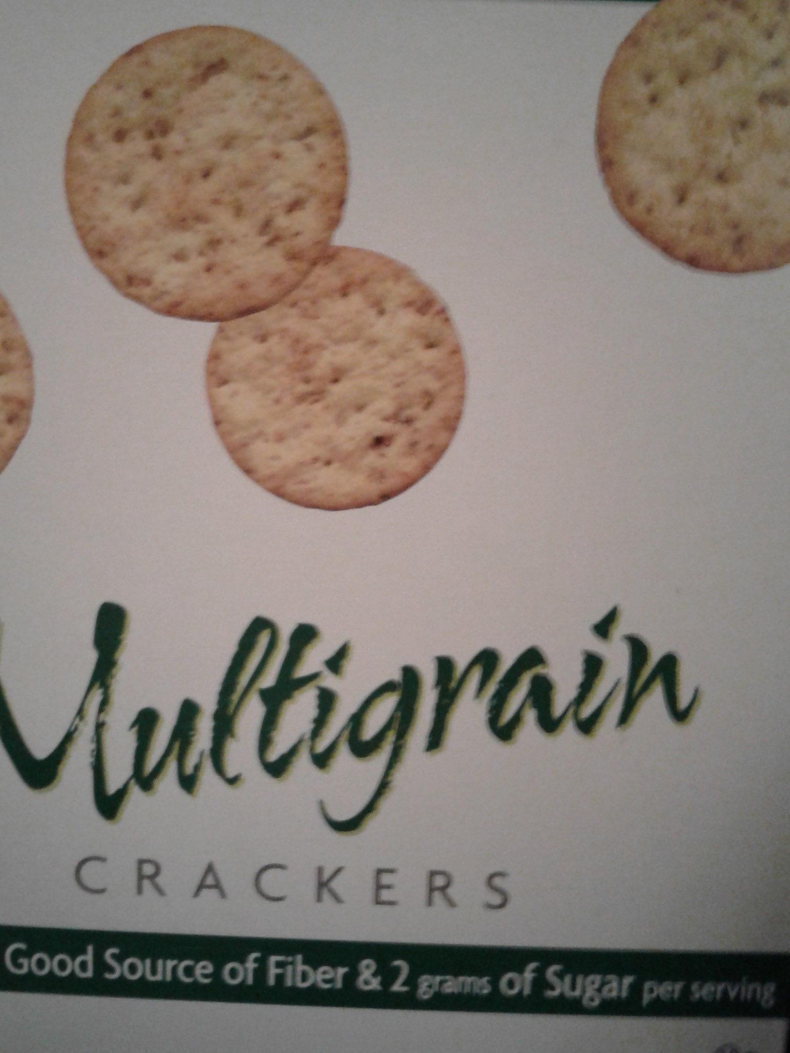 Multigrain Crackers - Product - en