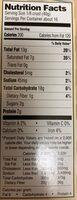 Pie crust - Nutrition facts - en