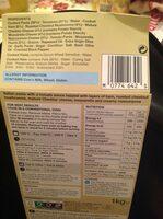 Ham, Mushroom & Mascarpone - Pasta Melt - Nutrition facts