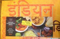 M&S Indian favorites - Product