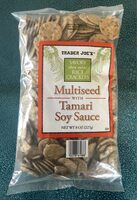 Trader Joe's savory thin mini rice crackers - Product - en