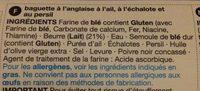 Ultimate Garlic Baguette - Ingredients