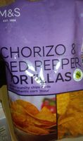 Chorizo & Red Pepper Tortillas - Product