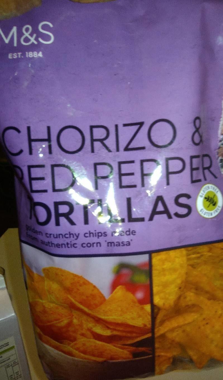 Chorizo &réf promet tortillas - Product - fr