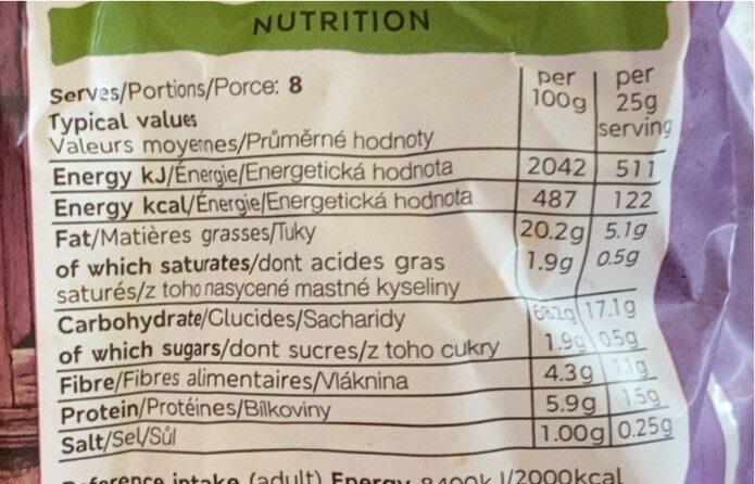 Chorizo &réf promet tortillas - Nutrition facts - fr