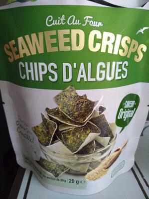 SEAWEED CRISPS - Chips d'Algues - Produit