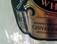 Blended Scotch Whisky aged 12 years - Nutrition facts