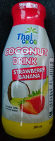 Coconut Drink Strawberry & Banana - Product