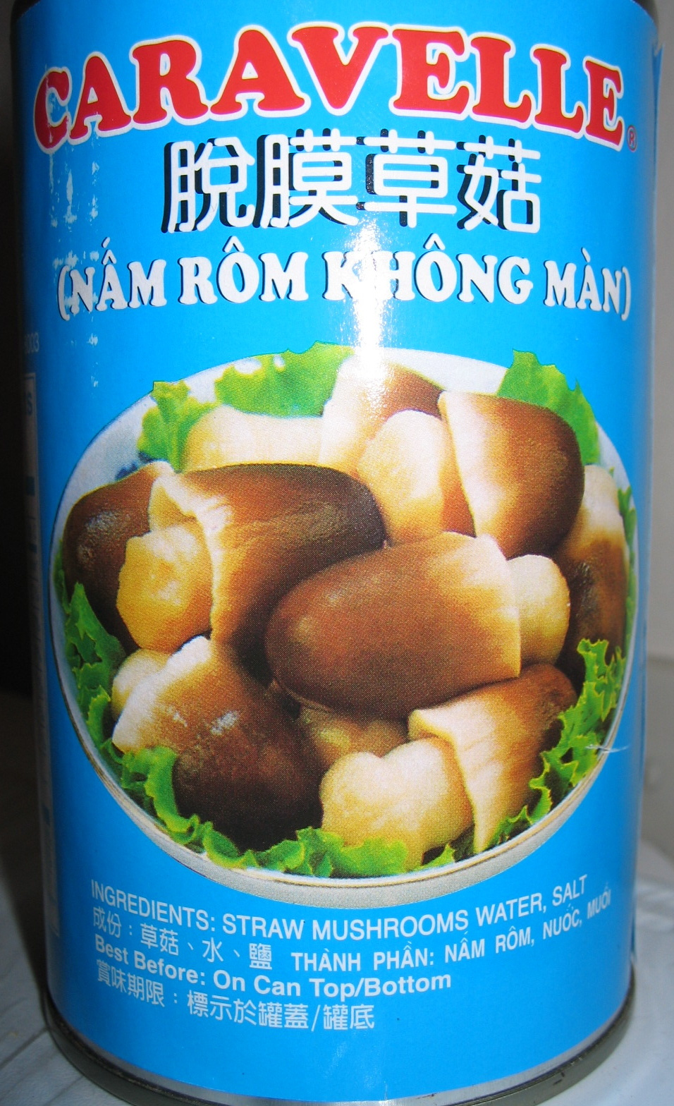 Straw Mushrooms Medium Peeled - Product - en