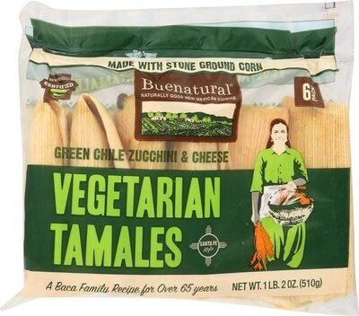 Buenatural, Vegetarian Tamales - Product - en