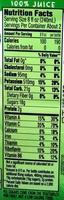 Veggies Kale Blazer - Nutrition facts