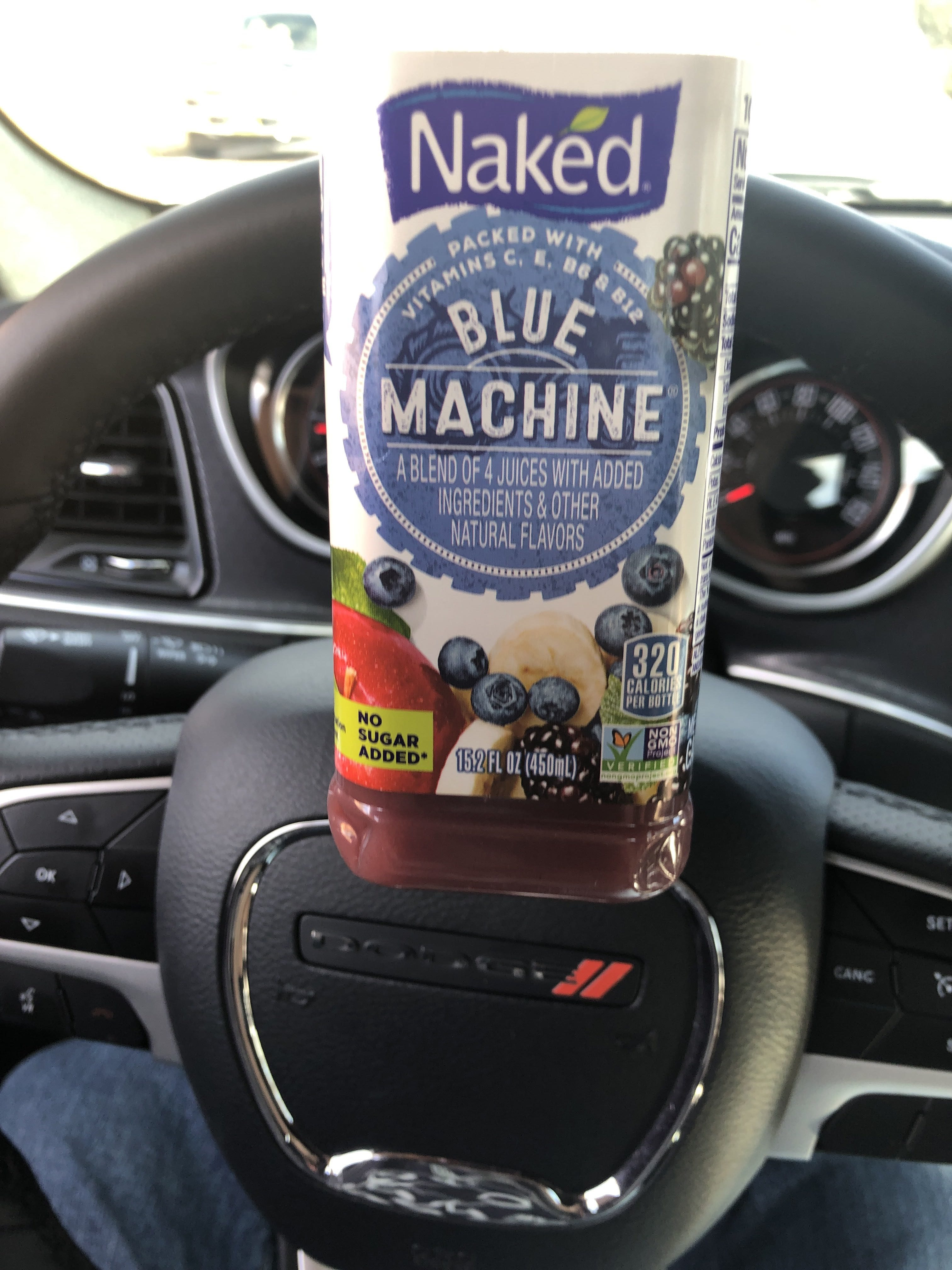 100% Juice Smoothie, Boosted Blue Machine - Product - en