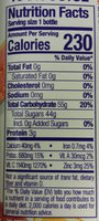 Boosted Power-C Machine 100% Juice Smoothie - Nutrition facts
