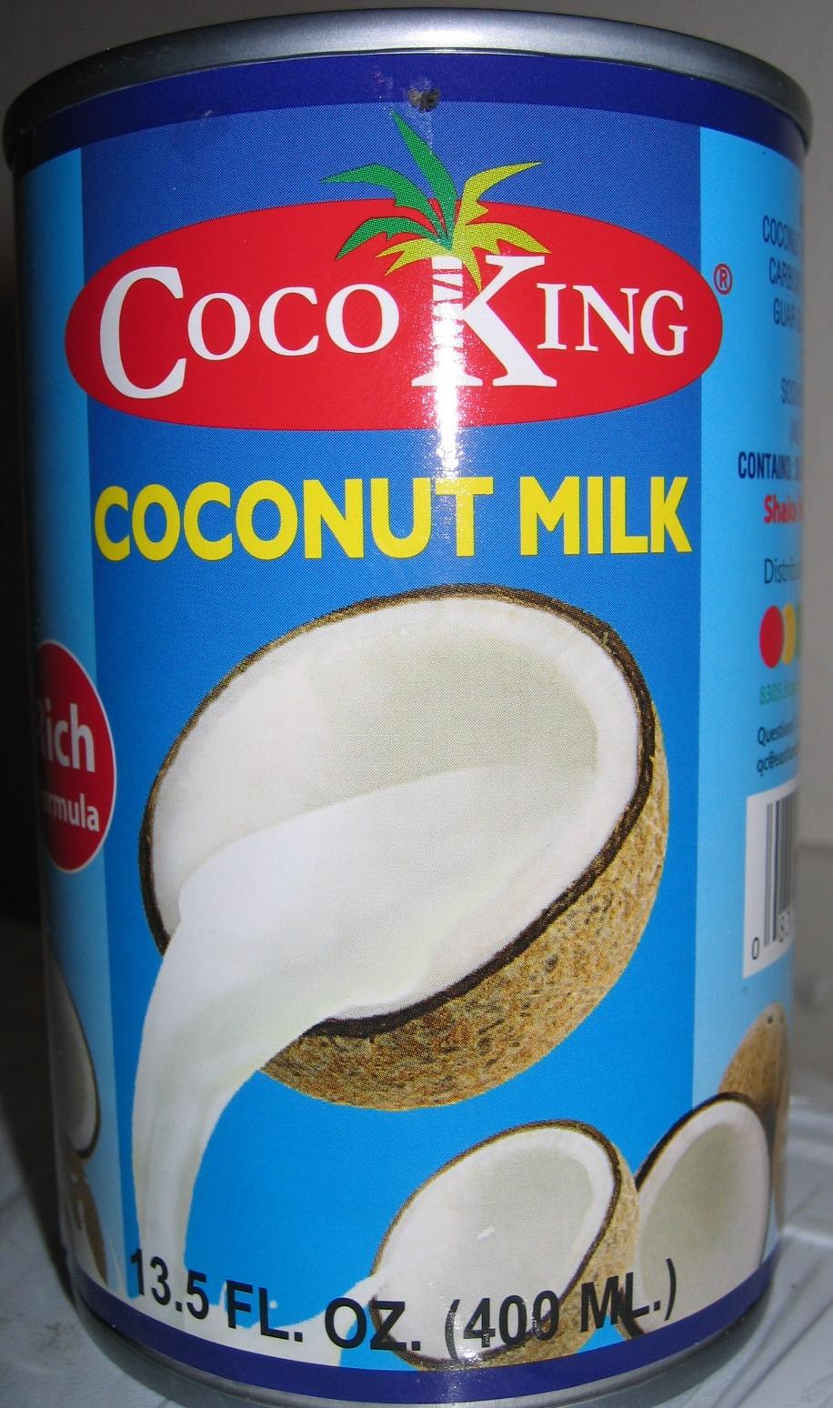 Coconut milk - Produit - en