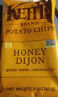 Kettle, potato chips, honey dijon - Product - en