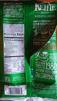 Kettle brand, potato chips, sour cream and onion - Ingredients - en