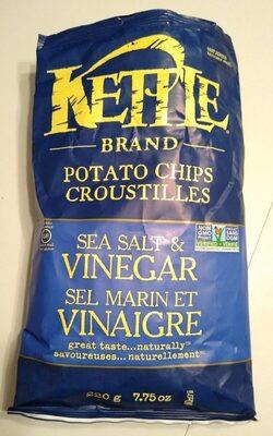 Croustilles sel et vinaigre - Product - en