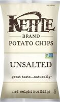 Kettle chips unsalted ounce - Product - en