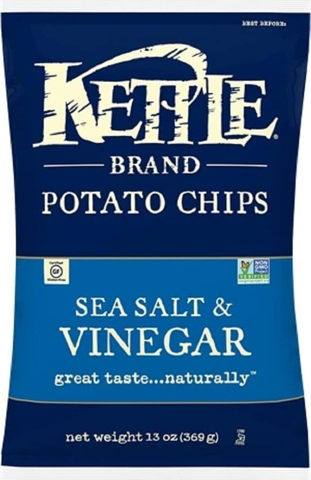 Sea salt & vinegar potato chips - Product - en