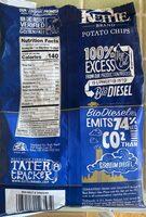 Sea salt & vinegar potato chips - Voedingswaarden - en