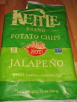 Kettle Brand Jalapeno Potato Chips - Produit - en