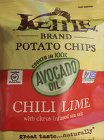 Kettle Brand Potato Chips Chili Lime - Product