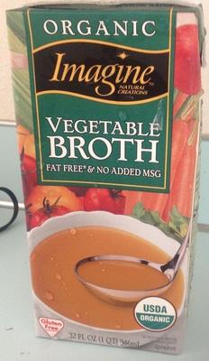 Imagine natural creations, vegetable broth - Product - en