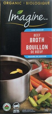 Beef broth - Product - fr