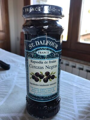 St.dalfour, Deluxe Spread Black Cherry 225ml - Nutrition facts