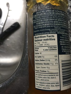Rapsodia de fruta Jengibre y Naranja - Product