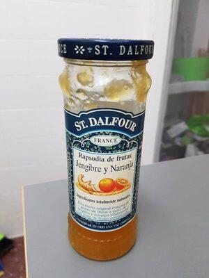 Rapsodia de frutas jengibre y naranja - Producte