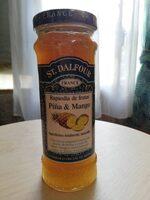 St.dalfour, Tartinade De Luxe Ananas & Mangue 225ml - Produit - es