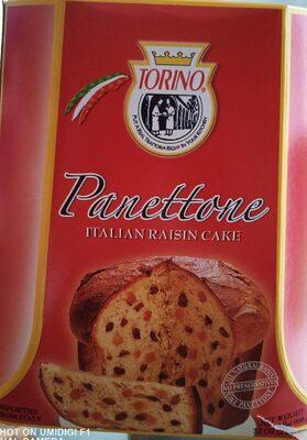 Pannetone italian raisin cake - Nutrition facts - fr