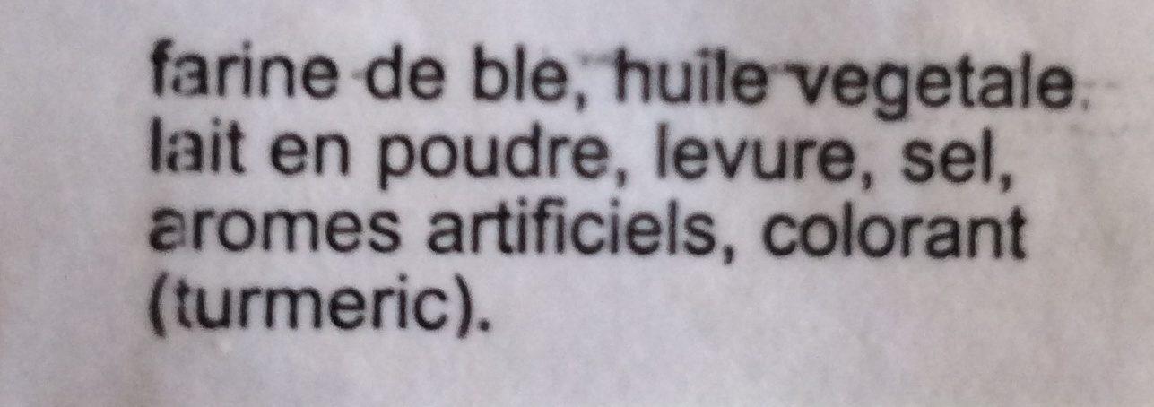 Cream crackers - Ingrédients - fr
