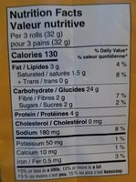 Krispies - Informations nutritionnelles - fr