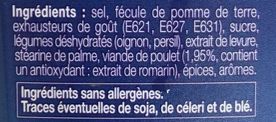Consomme & recipe mix - Ingredients - en