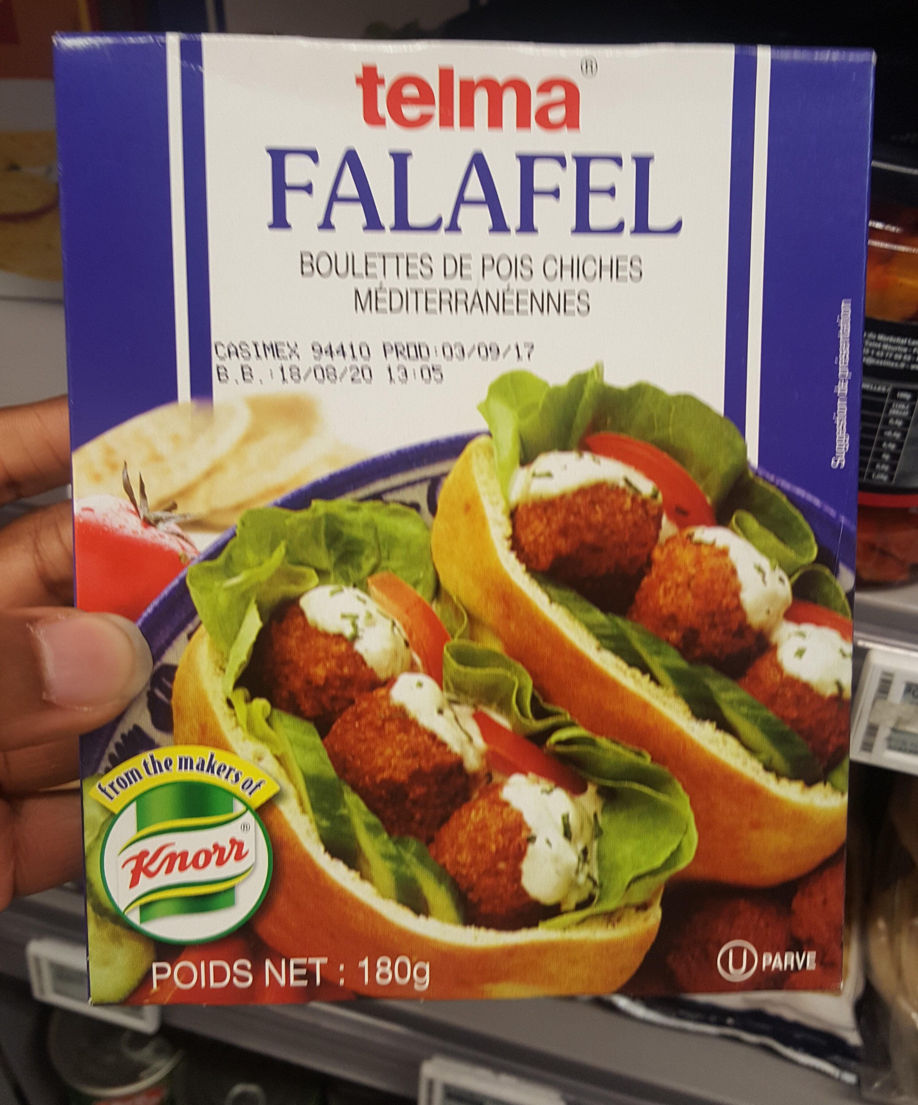 Knorr, falafel mix - Produit - en