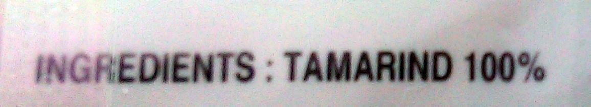 Tamarind - Ingredients - es