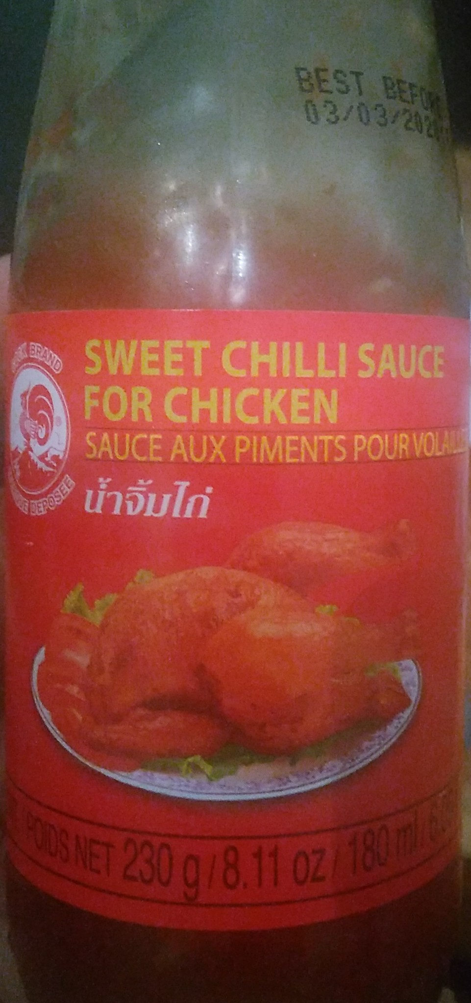 Sauce Piment Volaille 230 G COCK - Product