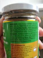 Pate de piments aux feuilles de basilic - Produit - fr